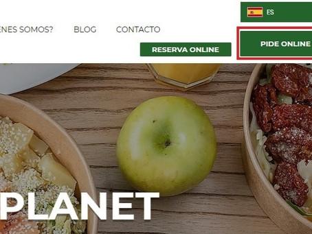 Nuevo Servicio de Recogida en Salad Planet