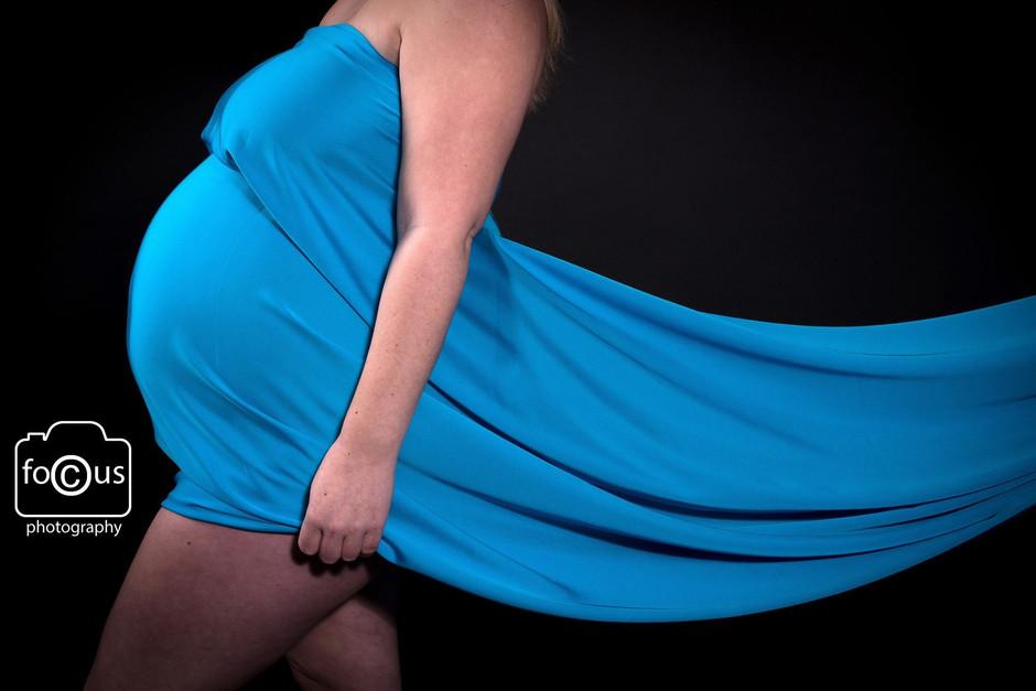 Maternity Silk Sheet shoot