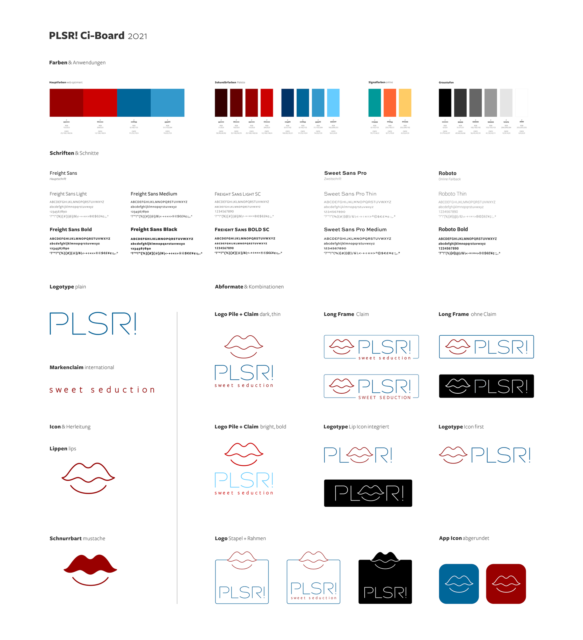 ci board · colors, fonts, logos