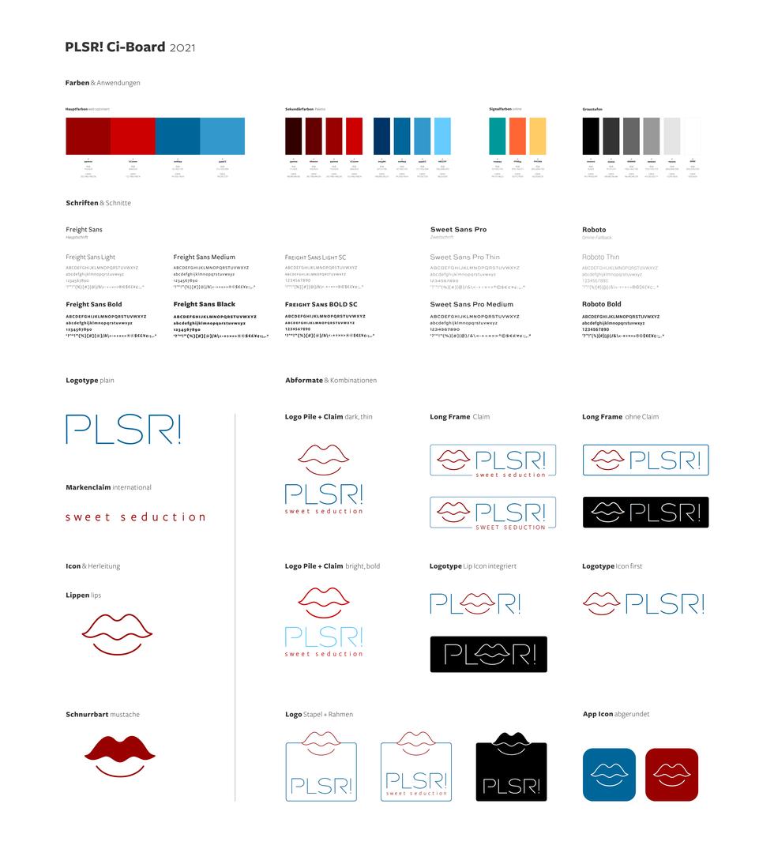 ci board · colors, fonts, logos