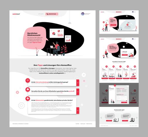 Landingpage Strategy & Design