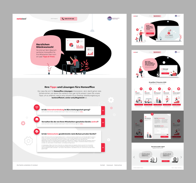 Landingpage Strategy & Design