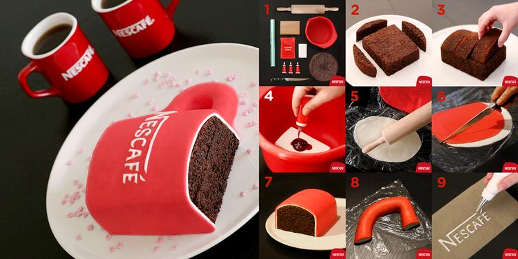 NESCAFÈ Cake Tutorial