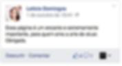 Comentários da fanpage do Facebook do ArraZa!