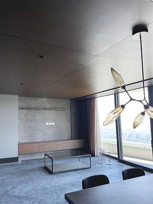 Recubrimientos de Madera Plafones Monterrey Modern Wood Ceiling
