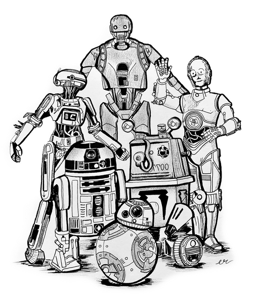 Droid Family Photo