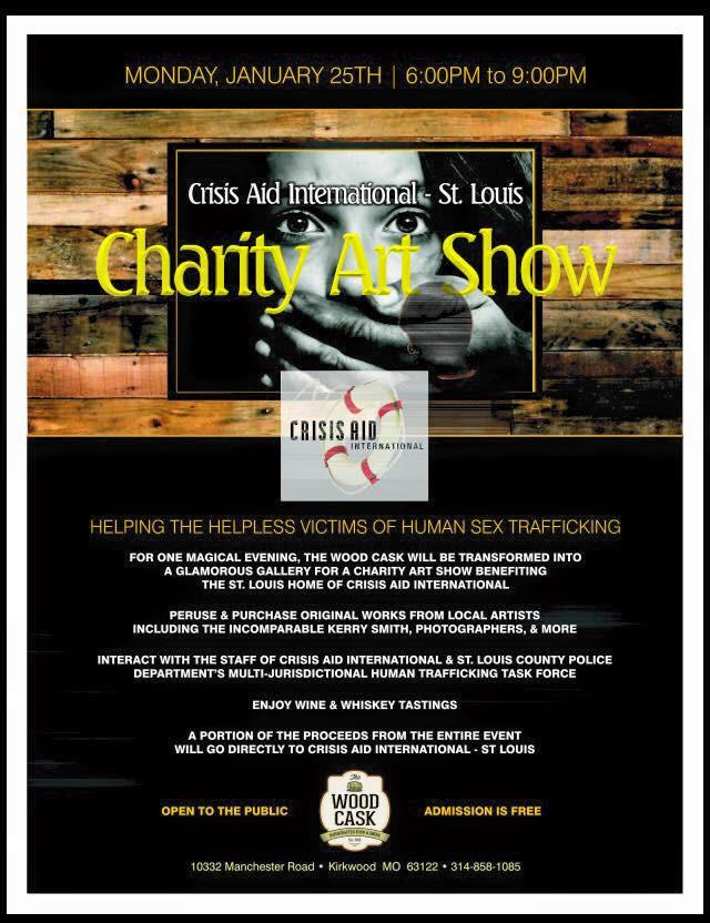 Crisis Aid International Charity Art Show - 2016