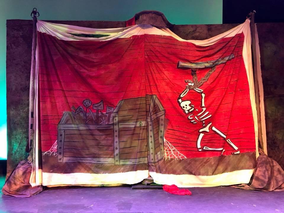 "Set Painter of Mussouri Baptist University's production of ""SHREK"" 2017"