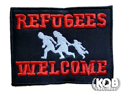 REFUGEES WELCOME Patch / Toppa