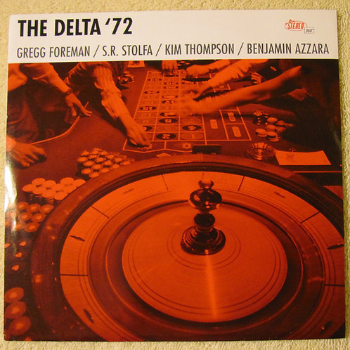 """DELTA 72 (THE) - On The Rocks EP 7"""""""