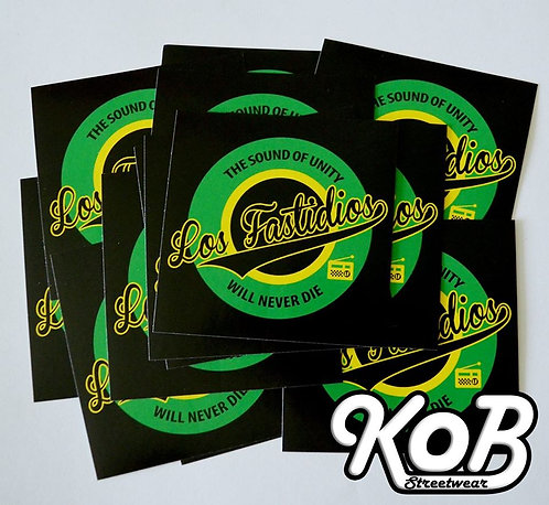 LOS FASTIDIOS THE SOUND OF UNITY (30 Stickers)