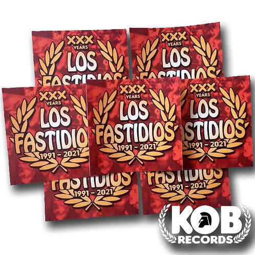 LOS FASTIDIOS XXX (30 Stickers)