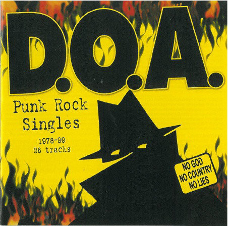 DOA - Punk Rock Singles 1978-99 CD