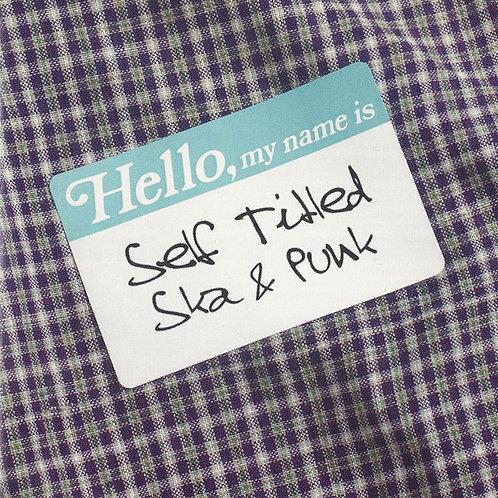 V/A - Hello, My Name Is: Self Titled Ska & Punk CD