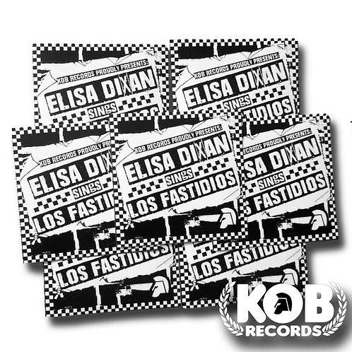 ELISA DIXAN Sings Los Fastidios (30 Stickers)