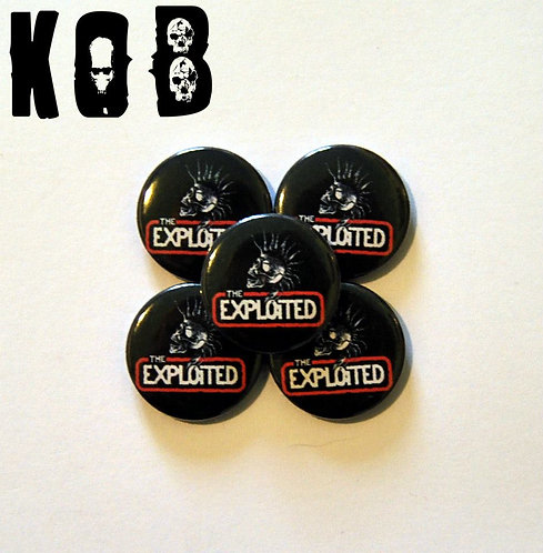 THE EXPLOITED Button