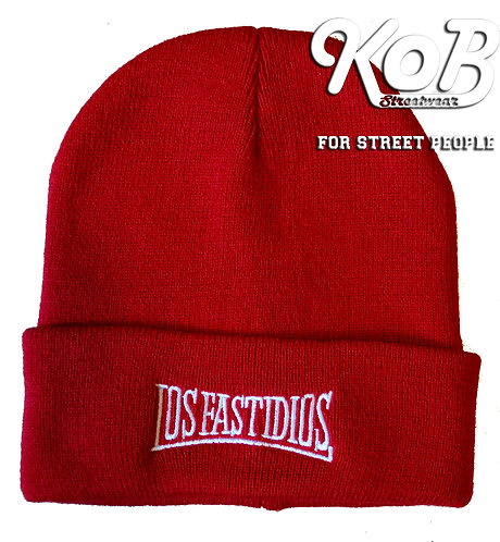 LOS FASTIDIOS Red Winter Cap