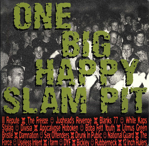 V/A One Big Happy Slam Pit LP