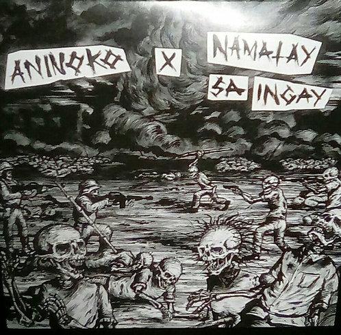 """ANINOKO X NAMATAY SA INGAY - Aninoko x Namatay sa Ingay EP 7"""" (Black&Red)"""
