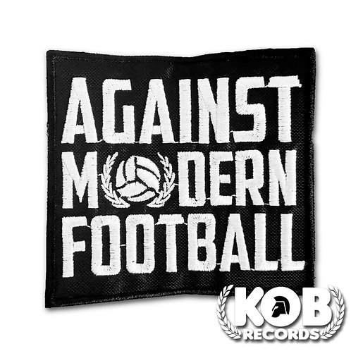 AGAINST MODERN FOOTBALL Patch / Toppa