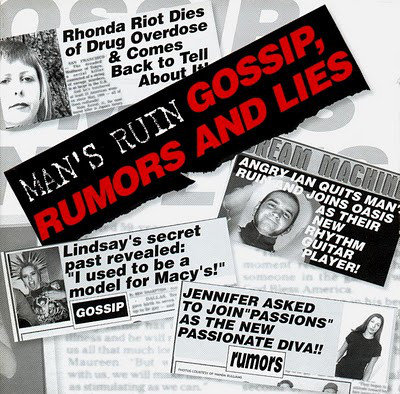 MAN'S RUIN - Gossip, Rumors and Lies LP