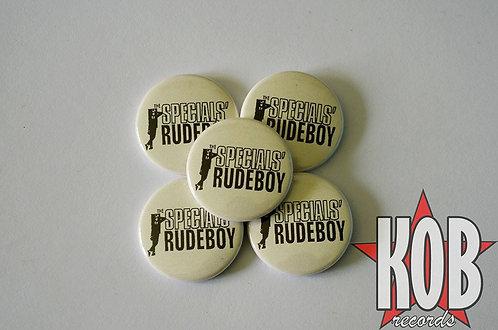 THE SPECIALS RUDEBOY Button