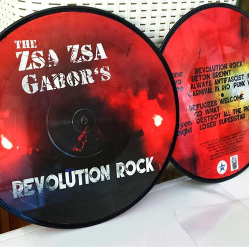 ZSA ZSA GABOR'S (THE) - Revolution Rock LP (Picture)