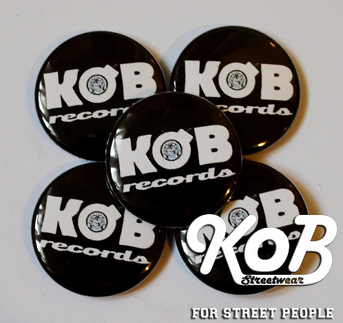 KOB RECORDS Button