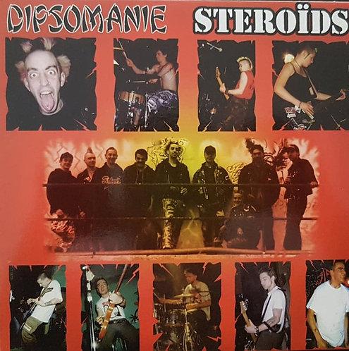 """DIPSOMANIE / STEROIDS - Dipsomanie / Steroïds EP 7"""""""