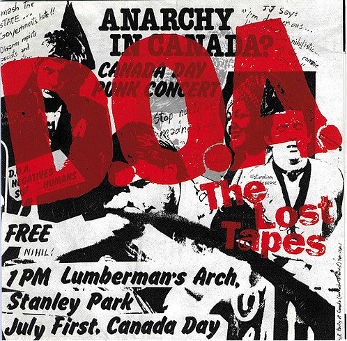 DOA - The Lost Tapes CD