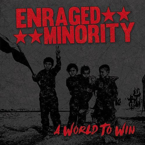 ENRAGED MINORITY - A World To Win CD