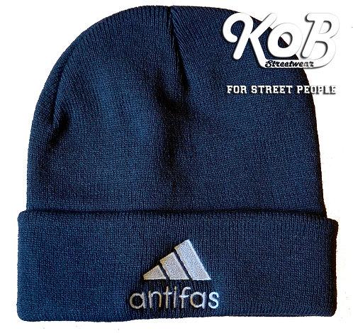 ANTIFAS Grey Winter Cap
