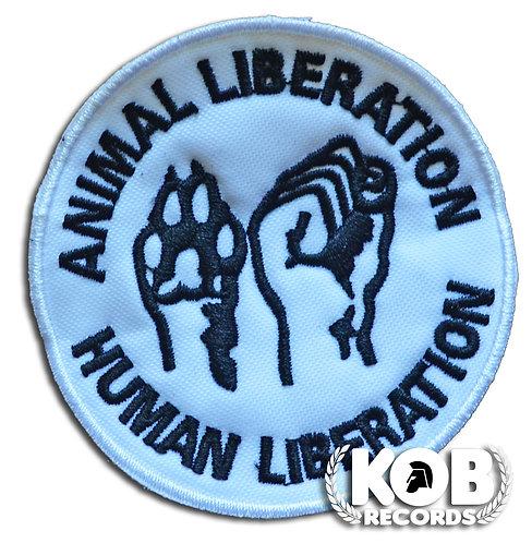 ANIMAL LIBERATION Patch/Toppa