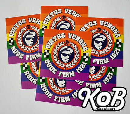 VIRTUS VERONA RUDE FIRM 1921 (30 Stickers)