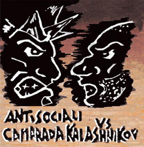 ANTISOCIALI / CAMARADA KALASHNIKOV - Antisociali Vs Camarada CD