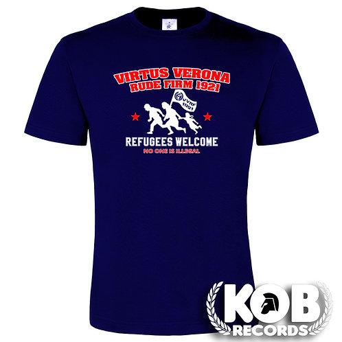 VIRTUS VERONA RUDE FIRM 1921 REFUGEES WELCOME T-Shirt