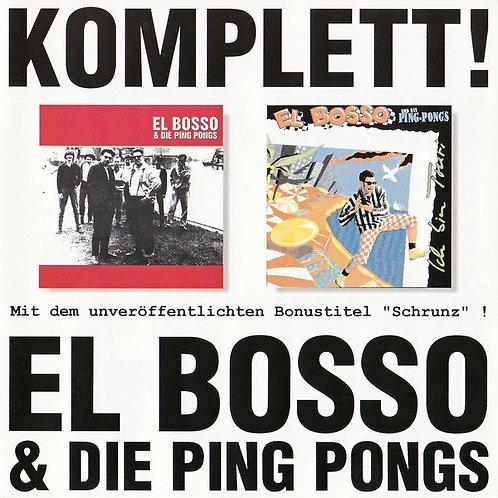 EL BOSSO & DIE PING PONGS - Komplett! CD
