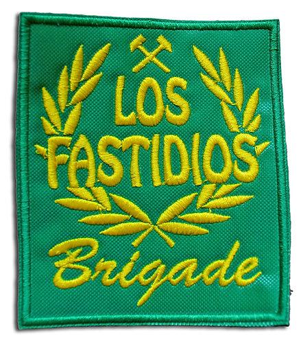 LOS FASTIDIOS BRIGADE Green/Yellow - Patch/Toppa