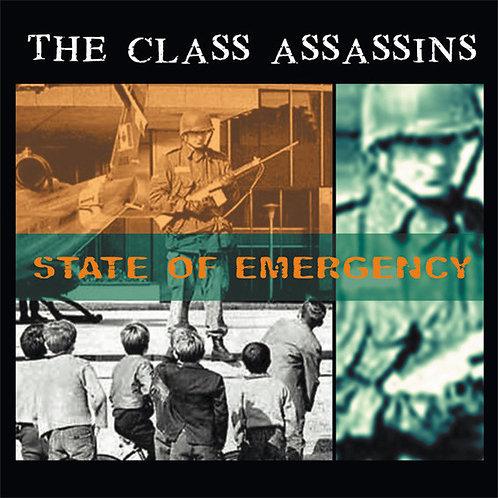 CLASS ASSASSINS (The) - State Of Emergency CD
