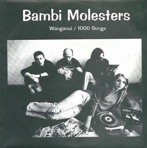 "BAMBI MOLESTER - Coastal Disturbance EP 7"" (Blue)"