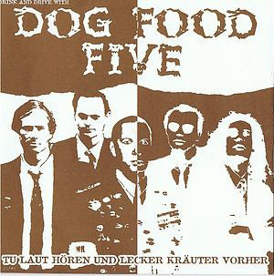 "DOG FOOD FIVE - Drink And Drive With Dog Food Five EP 7"" (Brown)"