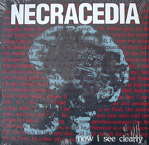 NECRACEDIA - Now I See Clearly LP