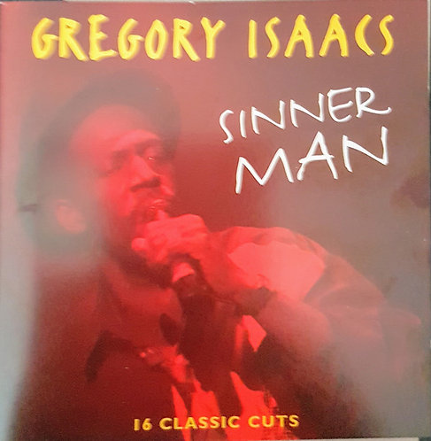 GREGORY ISAACS - Sinner Man CD