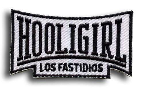 LOS FASTIDIOS HOOLIGIRL Patch/Toppa