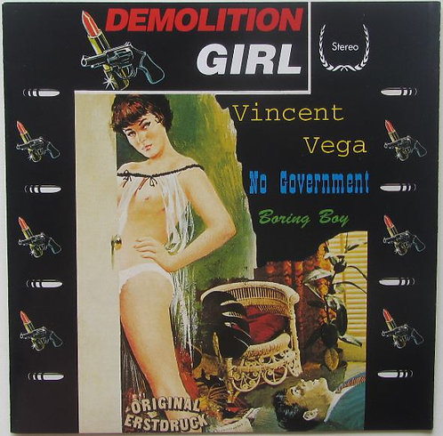 """DEMOLITION GIRL - Vincent Vega EP 7"""" (Red)"""