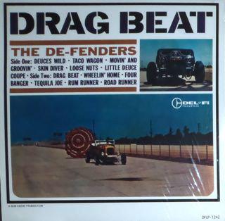 DE-FENDERS (THE) - Drag Beat LP