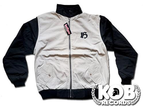 Harrington Hooligan Streetwear (Double color Black/Cream)