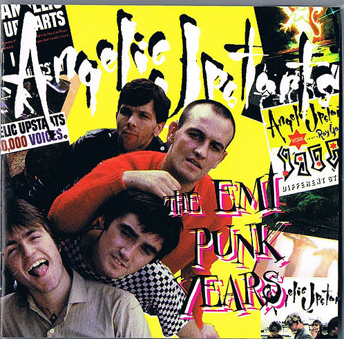 ANGELIC UPSTARTS - The Emi Punk Years CD