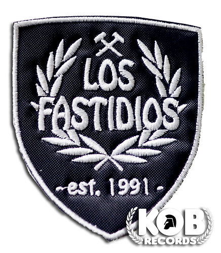 LOS FASTIDIOS Patch/Toppa