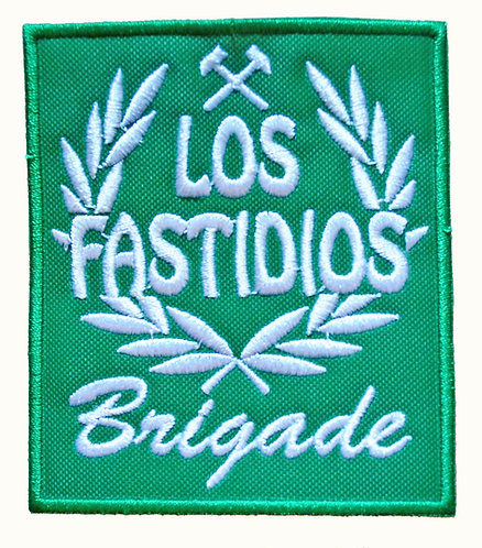 LOS FASTIDIOS BRIGADE Green/White Patch / Toppa